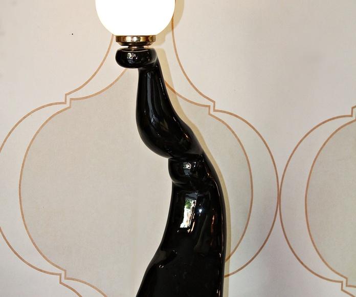 LAMPARA ESCULTURA AÑOS 60: Artículos  de Ruzafa Vintage