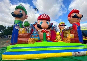 Castillo Mario Bros Movimiento Tamaño Reducido