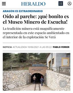 OÍDO AL PARCHE: ¡QUÉ BONITO ES EL MUSEO MINERO DE ESCUCHA!