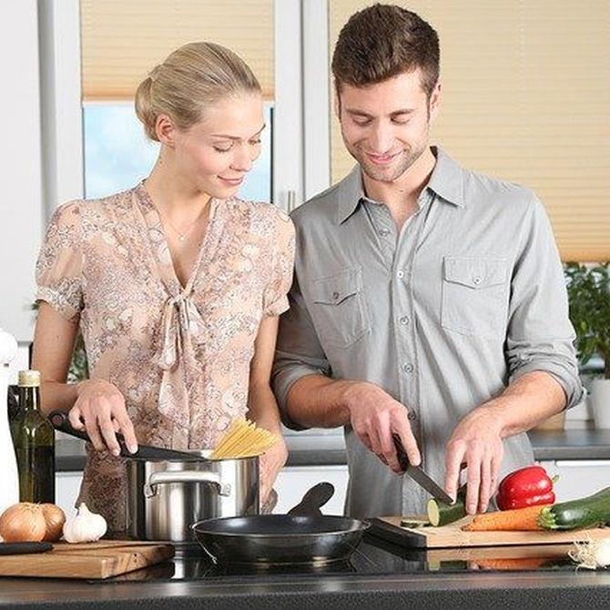 Adapta tu cocina a espacios pequeños
