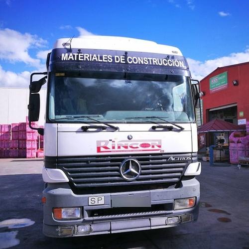 Distribución de materiales de construcción
