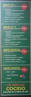 Menús especiales Zaragoza