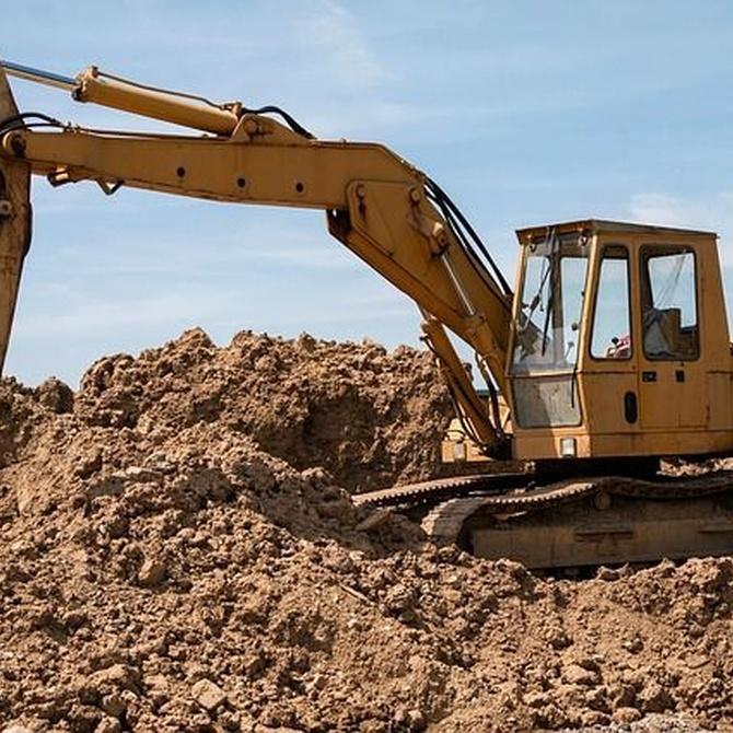Máquinas que se utilizan para construcción