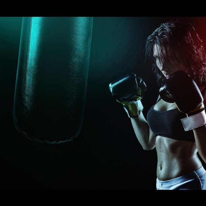10 beneficios del boxeo femenino