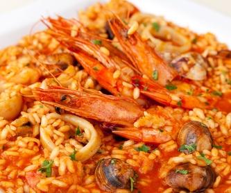 De nuestros mares a sus platos: Nuestros platos de Cafetería Restaurante La Victoria