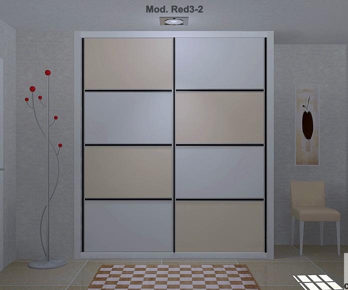Frente de armario Modelo Red 3 - 2