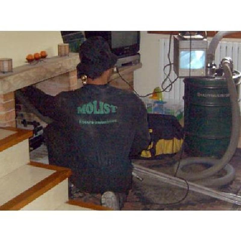 Limpieza Chimeneas domésticas  : Servicios de Molist Germans