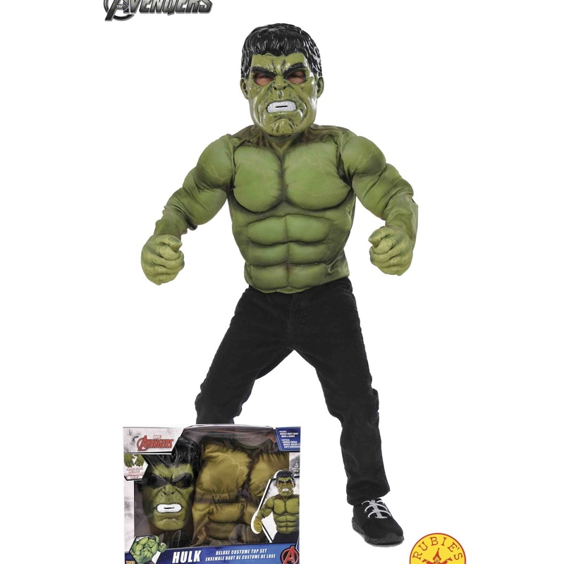 Disfraz Hulk infantil caja