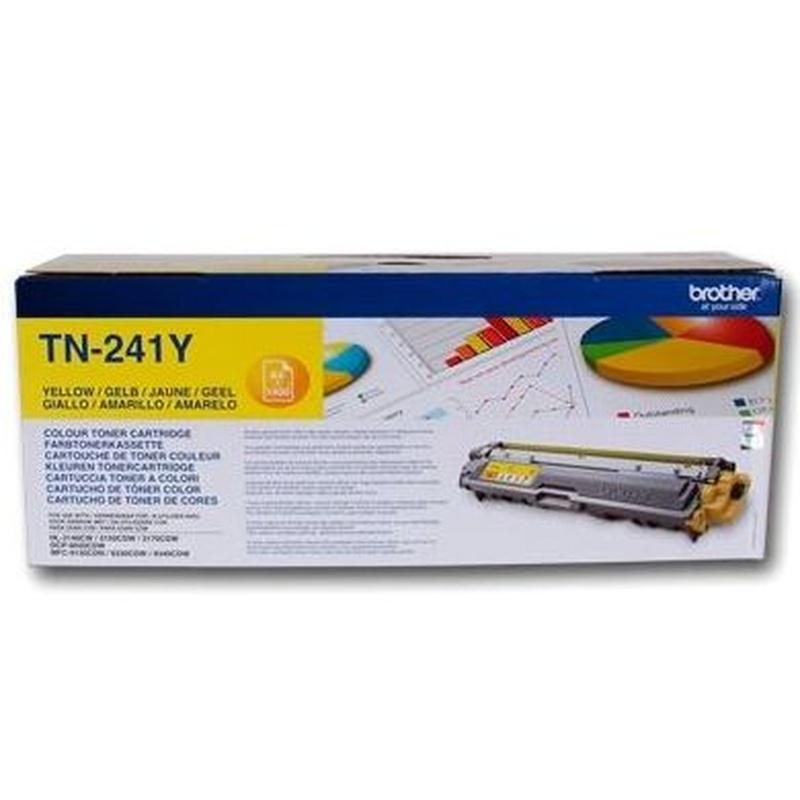 BROTHER TN241Y Tóner Yellow HL-3170CDW: Productos y Servicios de Stylepc