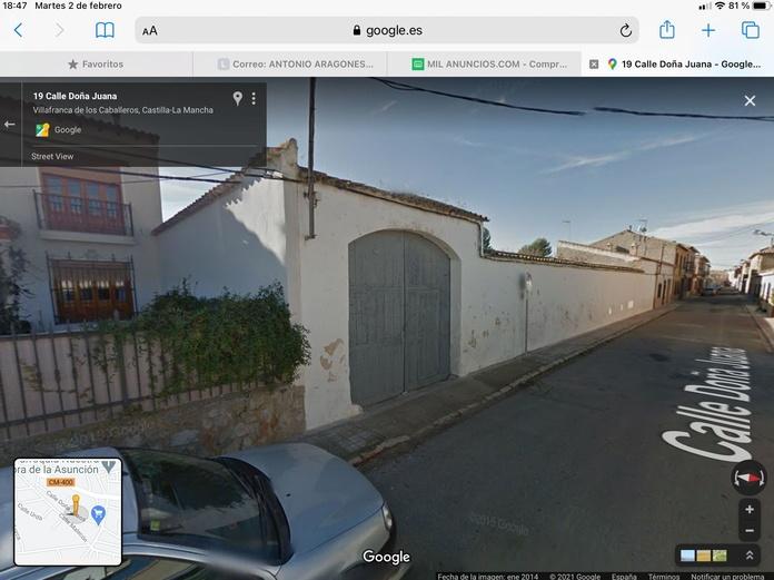 Venta de solar grande c/ Doña Juana: Inmuebles Urbanos de ANTONIO ARAGONÉS DÍAZ PAVÓN