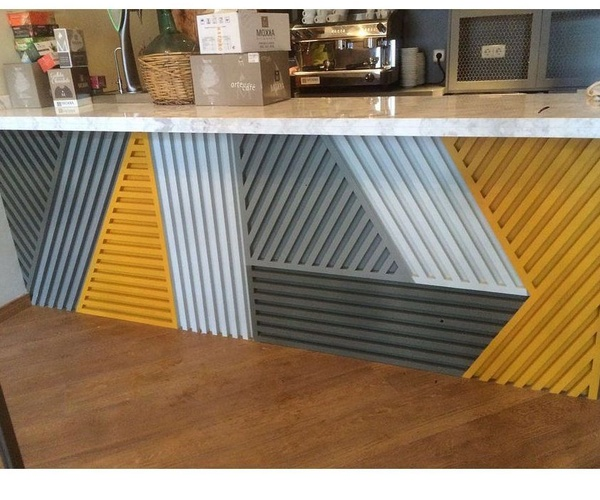 Barras y mobiliario para bares y tiendas