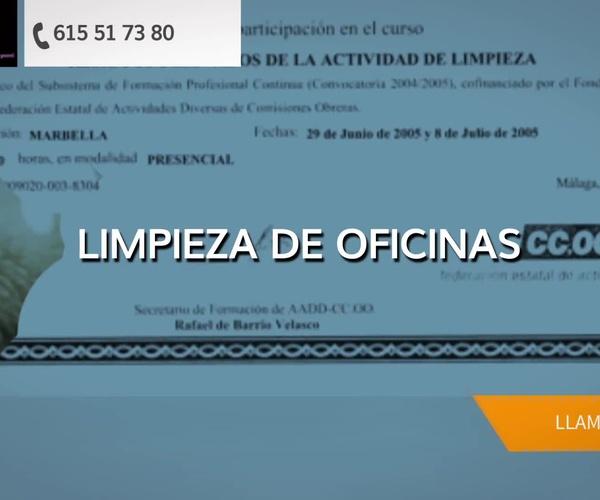 Empresa de limpieza en Marbella: Lycomar Lr