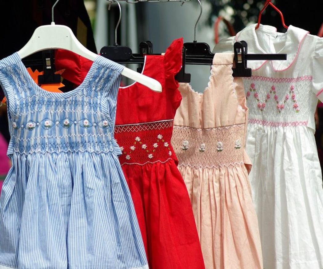 La ropa de marca también es para los niños
