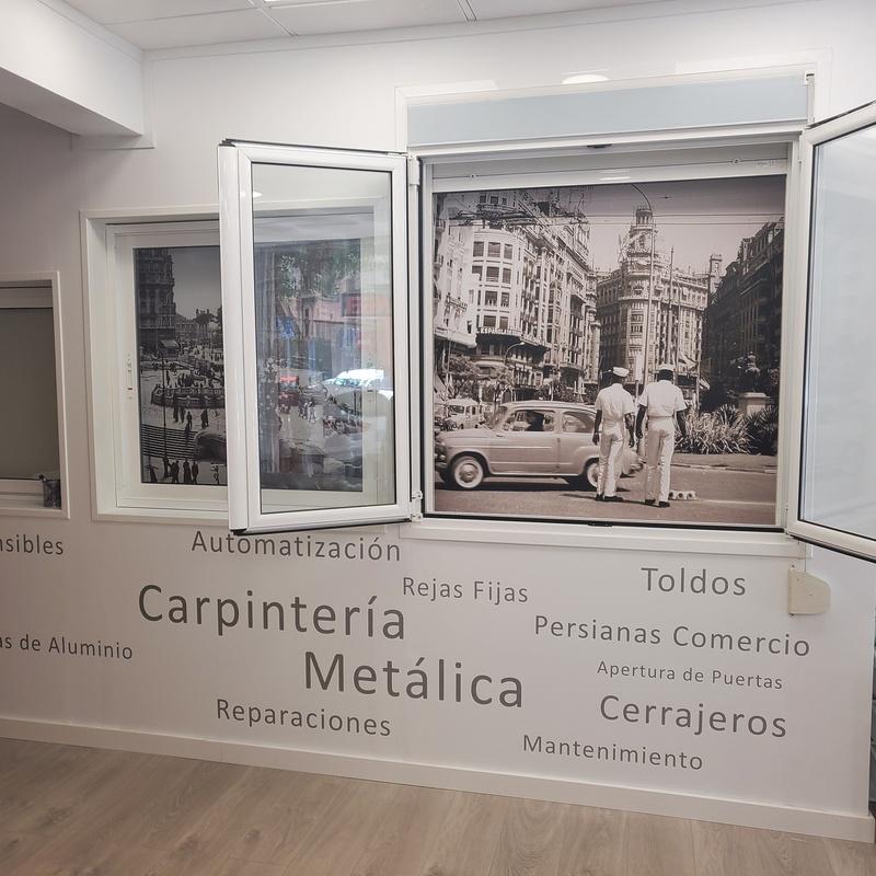 Carpintería metalica: Productos y servicios de EGS CERRAJEROS