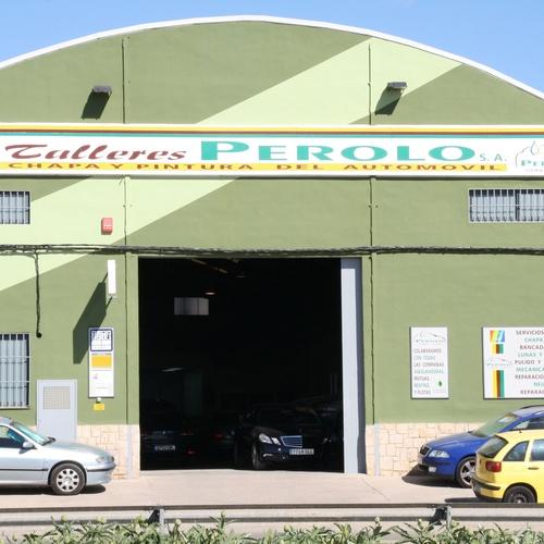 Reparación de chapa y pintura en Alboraya | Talleres Perolo