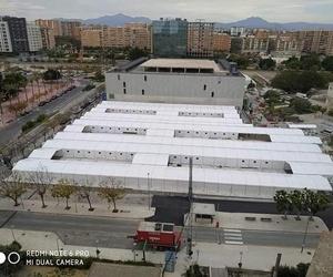 Hospitales de campaña en Valencia, Castellon y Alicante