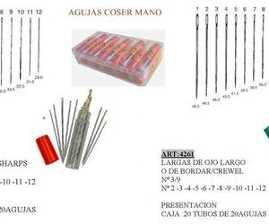 Todos los productos y servicios de Mercería (fabricación y mayoristas): J.G. Merceros