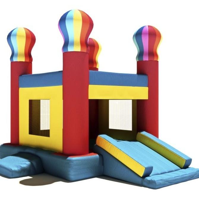 Descubre el beneficioso interior de nuestros castillos hinchables