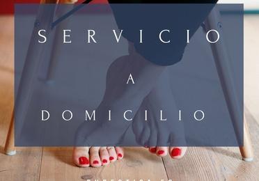 Servicio a domicilio de estética