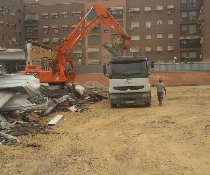 Derribos y Demoliciones: Especialidades de DMM Demoliciones