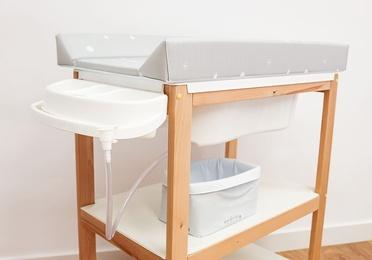 Bañera mueble de madera