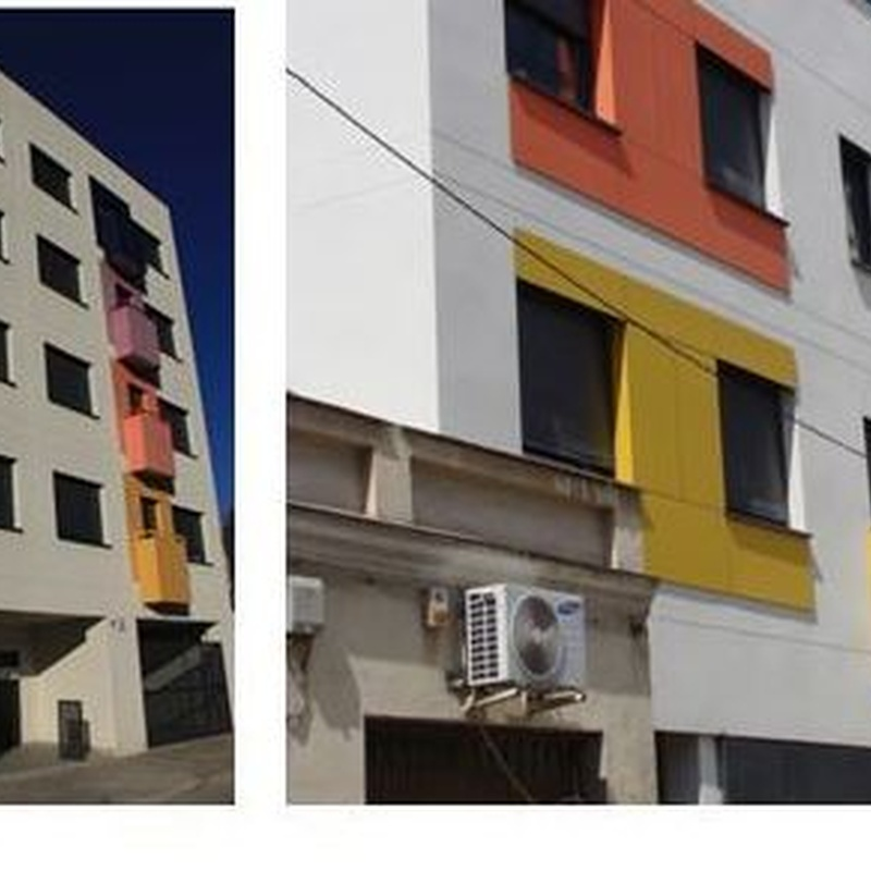 Edificio de 14 viviendas en Candelaria Mora, Madrid.  2009-2011 CERCUCAI