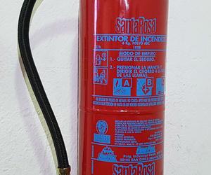 Extintor de polvo