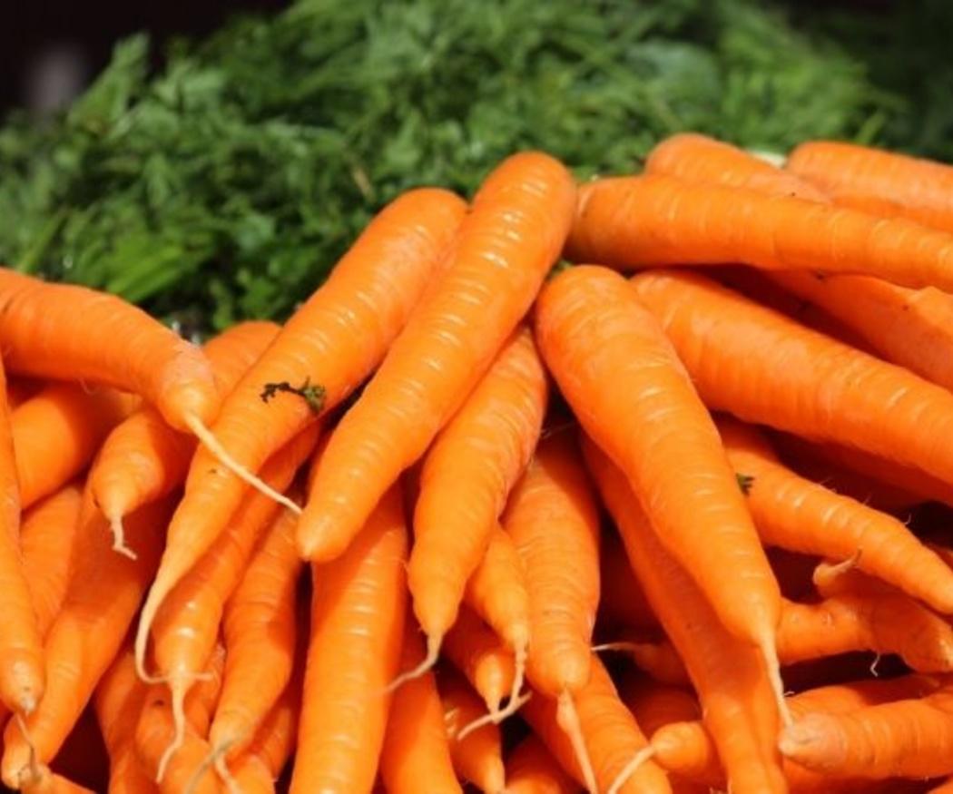 Las zanahorias y la vista