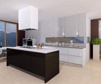 Cocinas de exposición en liquidación: Servicios de Muebles Sacoba
