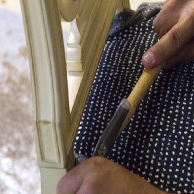 La historia de la tapicería