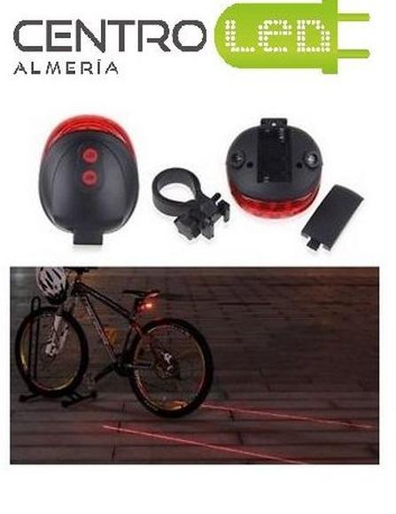 Piloto bicicleta Led+Laser: Productos de Centro Led Almería