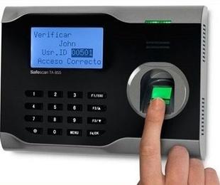 Lector biométrico por huella