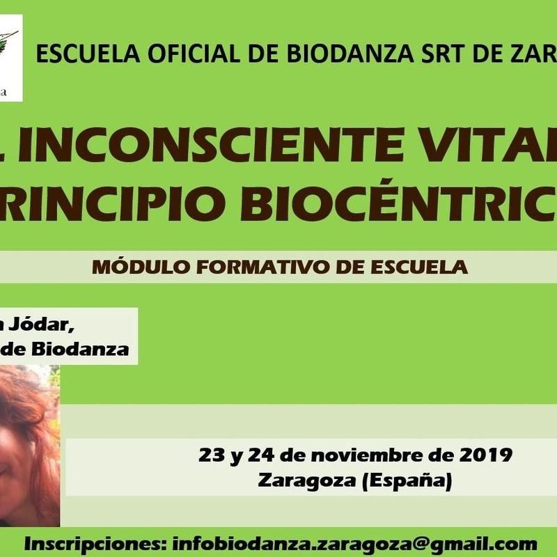 Módulo de Formación 'El Inconsciente vital y Principio Biocéntrico': CURSOS de Augusto Madalena