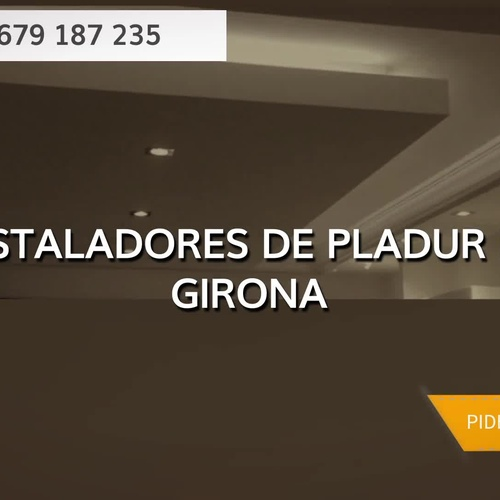 Colocación de pladur en  | Enguixats i Pladur Girona