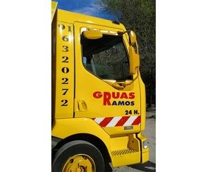 Servicio de grúa para vehículos en Griñón