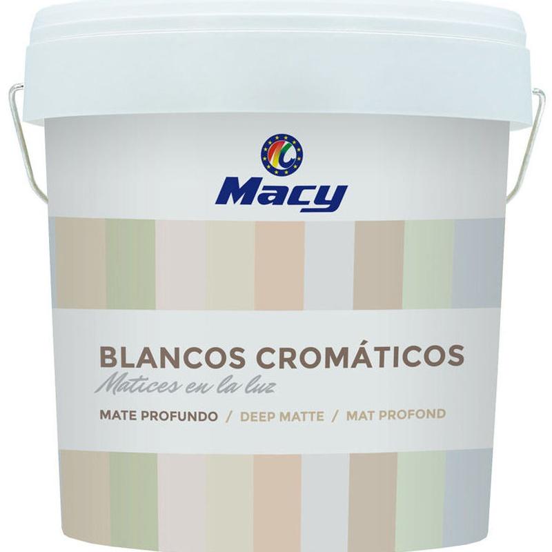 Blancos cromaticos en almacen de pinturas en ventas