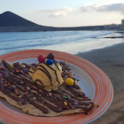 Crepes dulces y salados en El Médano | Crepería La Bohême