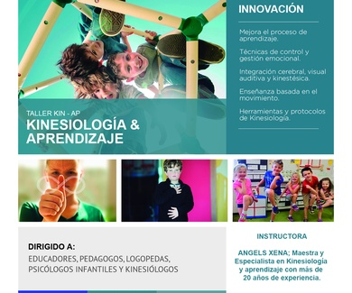 CURSO KIN-AP. Kinesiologia, aprendizaje y Neurodesarrollo. Barcelona 19/20