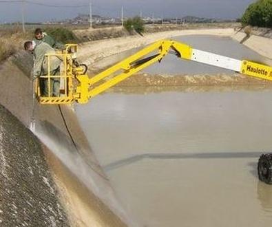Limpieza de canales de riego Huesca