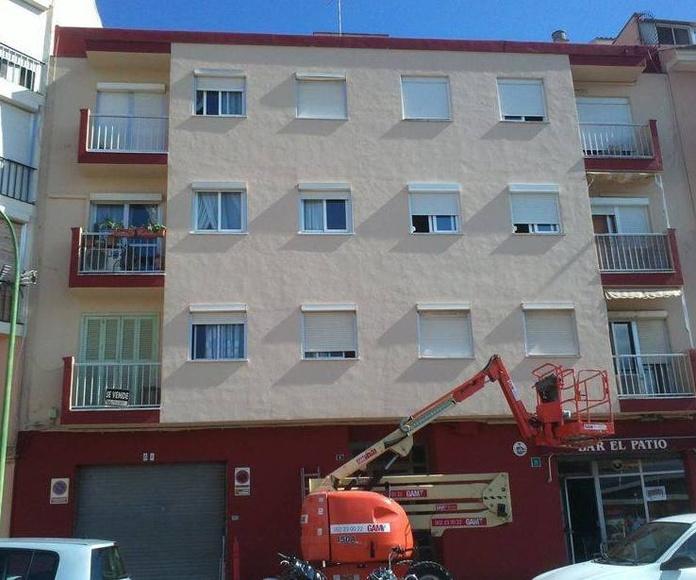 Pintado de edificios Mallorca