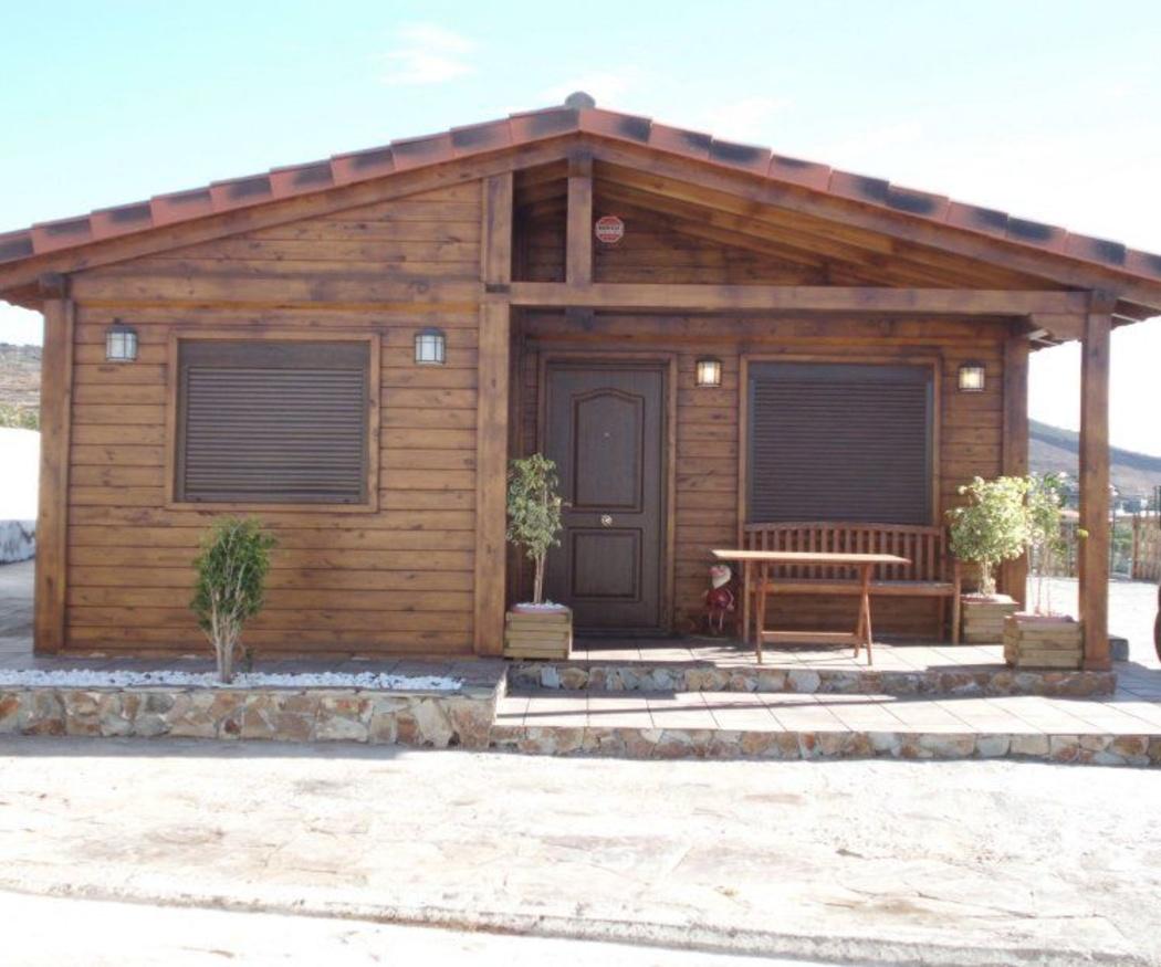 Casas de madera, baratas y resistentes