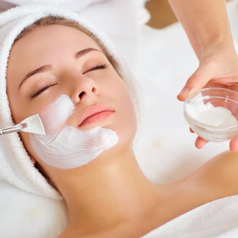 Tratamientos faciales: Servicios de Olan Peluqueros