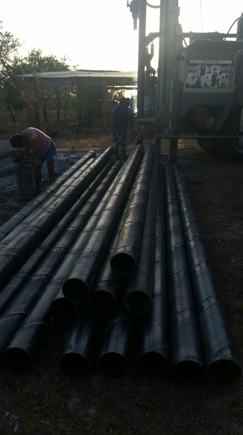 Entubado de sondeo en acero al carbono