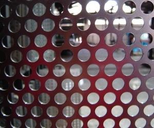 Cercado panel perforado
