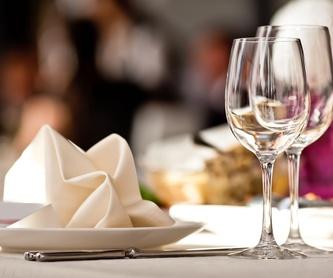 Menú 3: Menús para Bodas y Empresas de Restaurante Untzigain - Museo el Barco