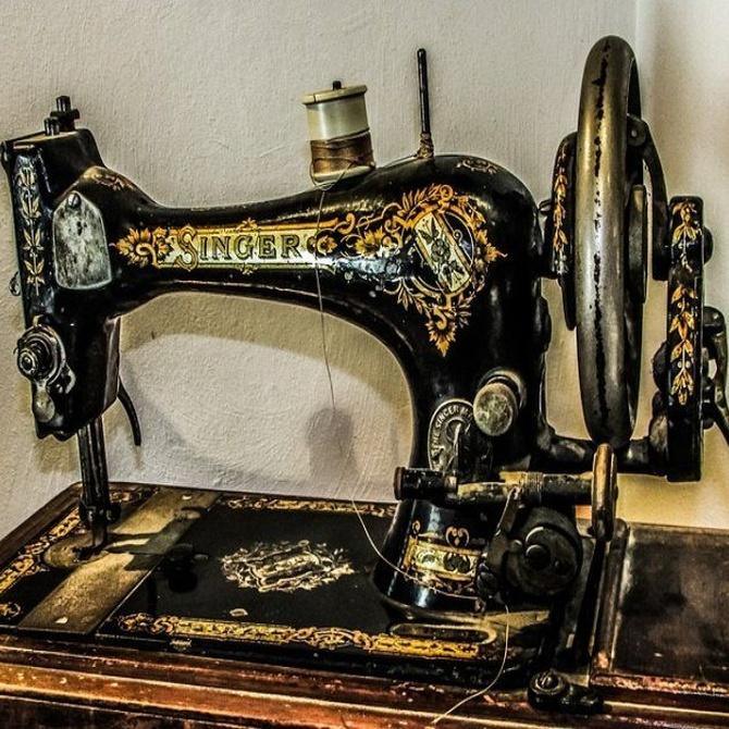 El encanto vintage de la máquina de coser