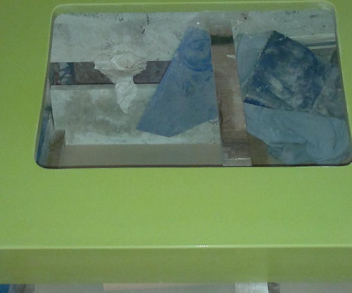Encimeras(azul, verde, etc): Catálogo y exposición de Alcomármol