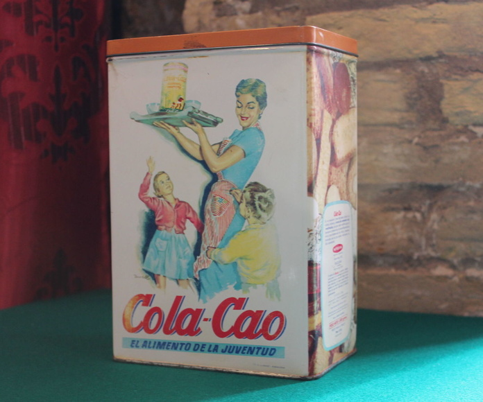 """Latas de """"Cola-Cao"""" - NO DISPONIBLES--: Artículos  de Ruzafa Vintage"""
