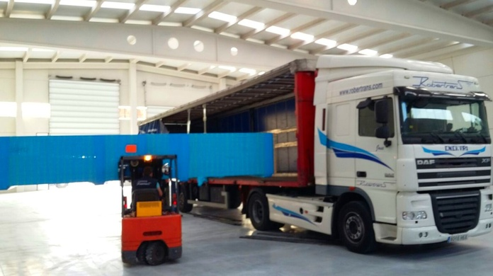 Mega: Servicios de Nave Logística Robertrans