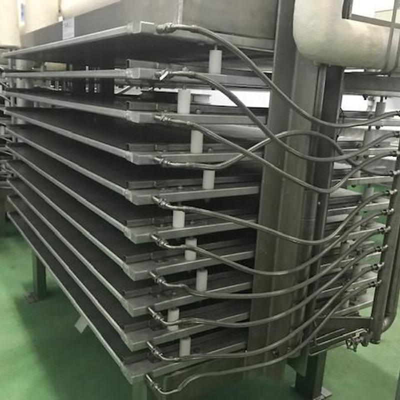 Línea de congelación en armarios de placas:  de MAQUIMUR